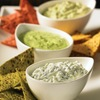 Healthy holiday party dips from The Yogurt Bible