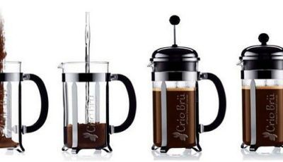 Make Crio Bru in a French press coffee maker!