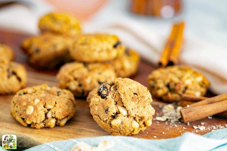 Gluten-Free Dairy-Free Pine Nut Cookies