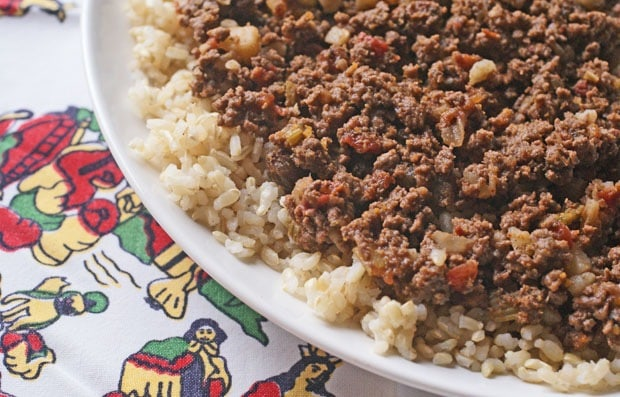 Venison Chorizo Picadillo at This Mama Cooks! On a Diet - thismamacooks.com