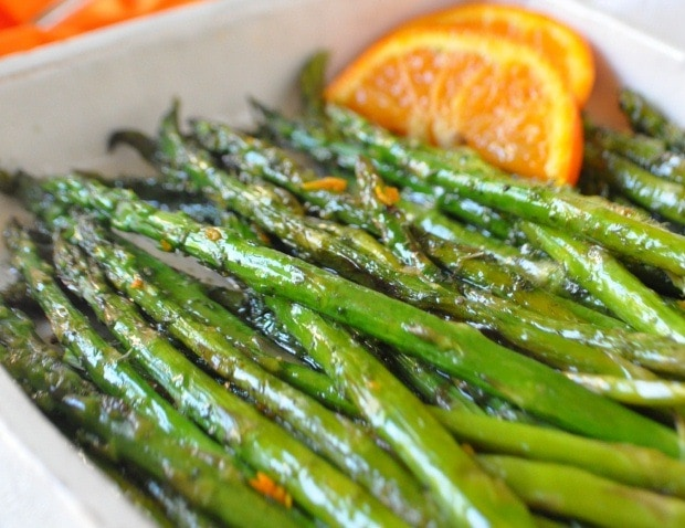 Marinated Asparagus from This Mama Cooks! On a Diet - thismamacooks.com