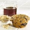 Healthy Wild Blueberry Bran Muffins