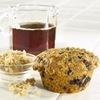 Healthy Wild Blueberry Bran Muffins