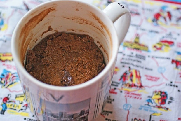 Gluten Free Chocolate Cake In a Mug at This Mama Cooks! On a Diet - thismamacooks.com