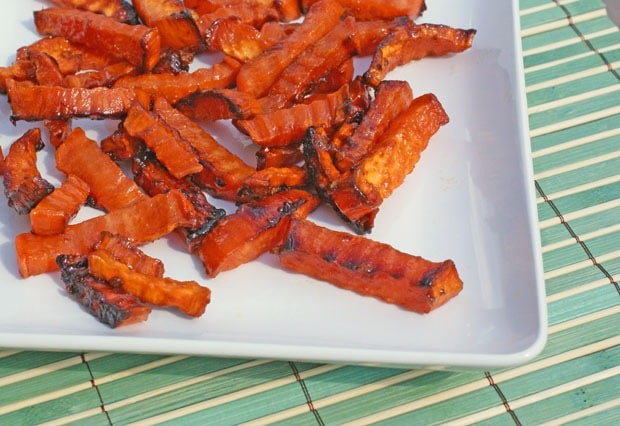 fried sweet potato fries