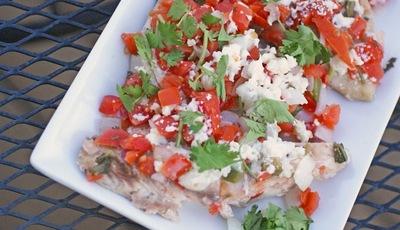 Easy Fish Veracruz (Pescado a la Veracruzana)
