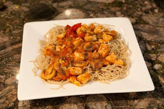 Chicken Cacciatore for Pasta