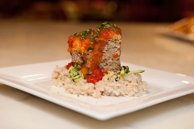 Turkey Meatloaf with Demonstrating Hunt's Dinner Sauces