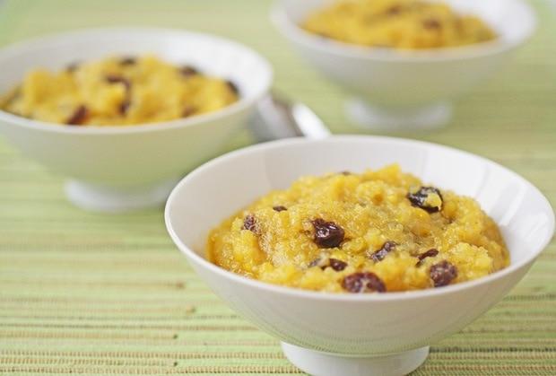 Gluten Free Mango Quinoa Halwa recipe at This Mama Cooks! On a Diet - thismamacooks.com
