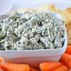 Healthy tailgate food: Spinach Dip