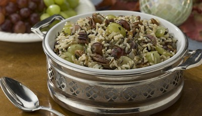 Chilean Grape and Wild Rice Dressing