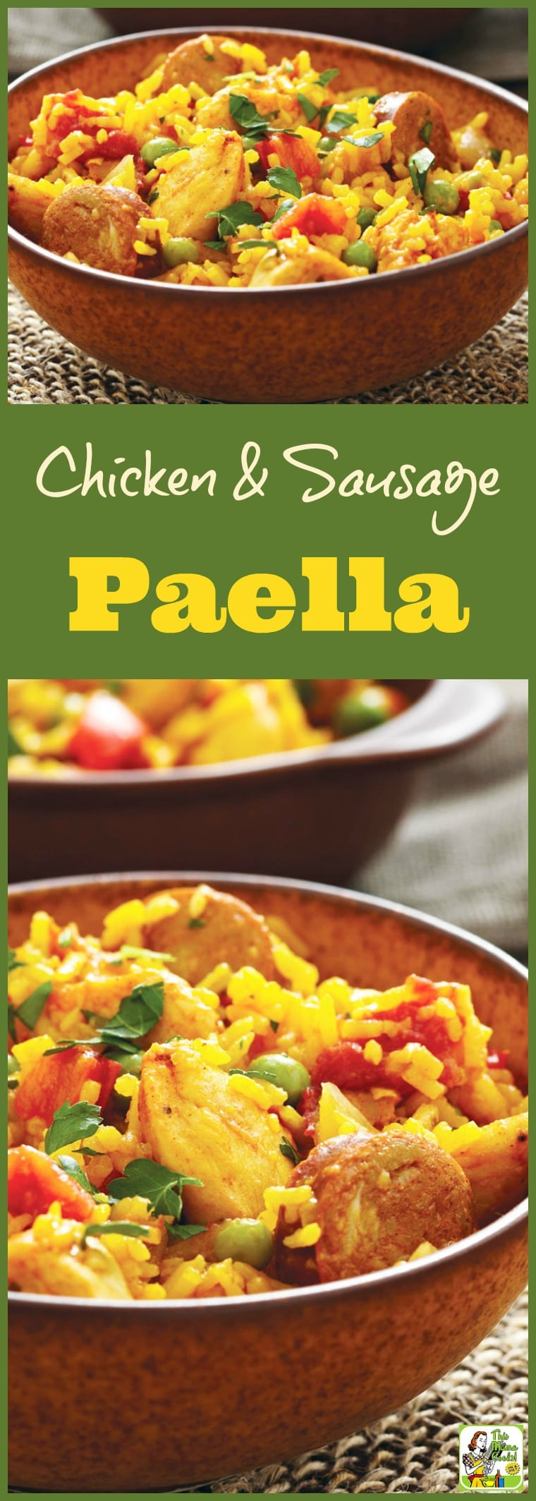 Chicken and Sausage Paella recipe. This one pot, gluten free, chicken, rice and sausage recipe is gluten free and allergy free. #recipes #easy #recipeoftheday #glutenfree #easyrecipe #easyrecipes #glutenfreerecipes #dinner #easydinner #dinnerrecipes #dinnerideas #chicken #chickenfoodrecipes #chickenrecipes #onepot