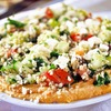 Everyone will love this Hummus & Tabbouleh Salad!