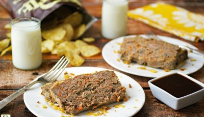 How to Make an Easy Gluten Free Meatloaf Recipe with Potato Chips & Carrots