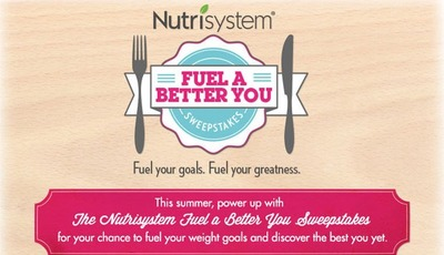 Enter the Nutrisystem Fuel A Better You Sweepstakes! #FuelABetterYou
