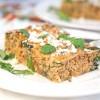 Chorizo Breakfast Casserole and Healthy Horchata