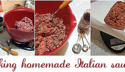 How to make homemade Italian sausage