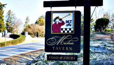 Dining at Michie Tavern in Charlottesville, VA