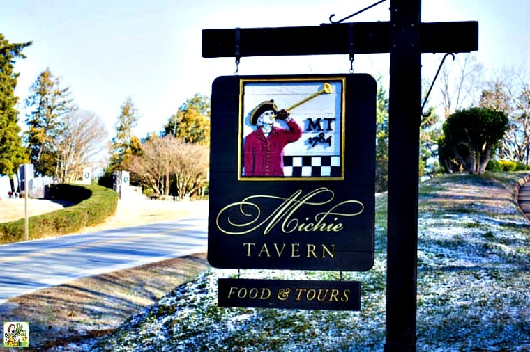 Dining at the Michie Tavern in Charlottesville, VA