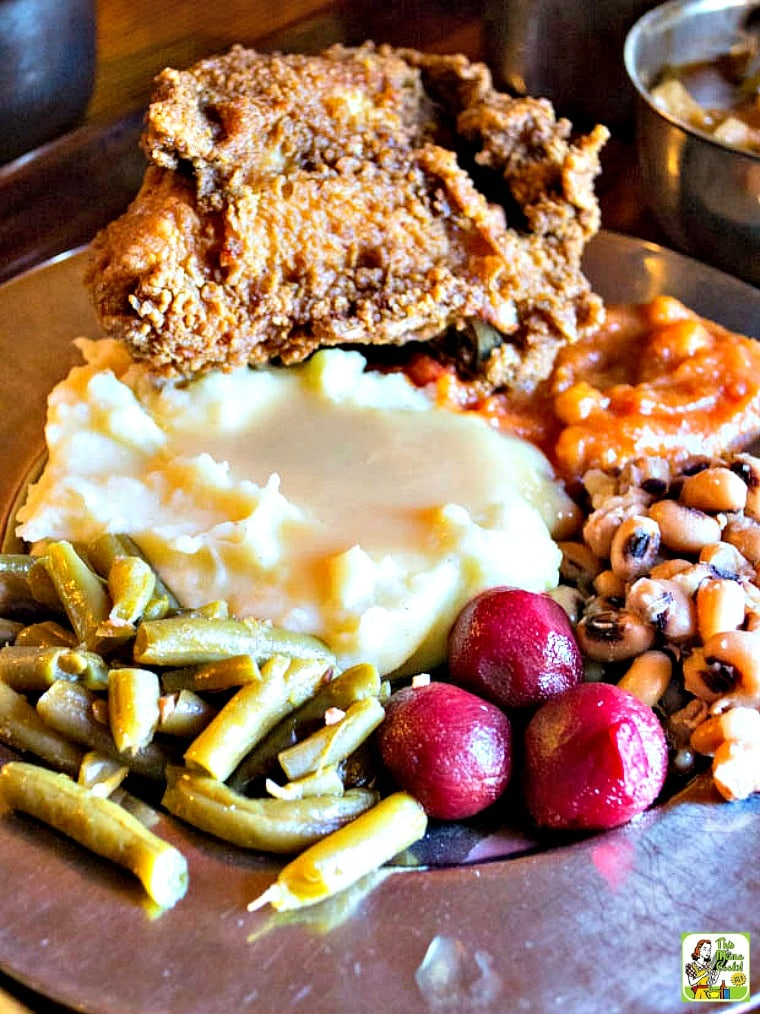 """The Michie Tavern in Charlottesville, VA features Southern fare """"at the ordinary"""""""
