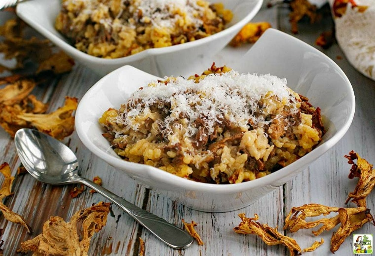Searching for easy risotto recipes? Then you'll love this Wild Mushroom Risotto dish.