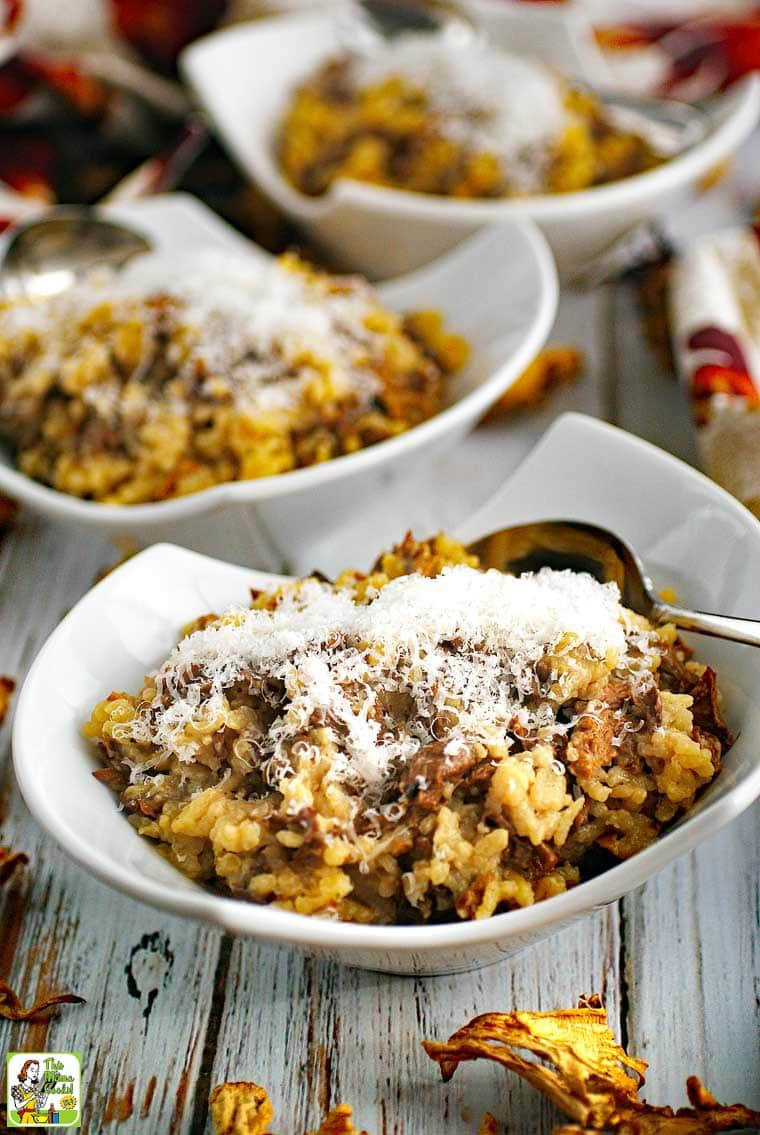 Unlike other easy risotto recipes, this Wild Mushroom Risotto only takes 30 minutes.