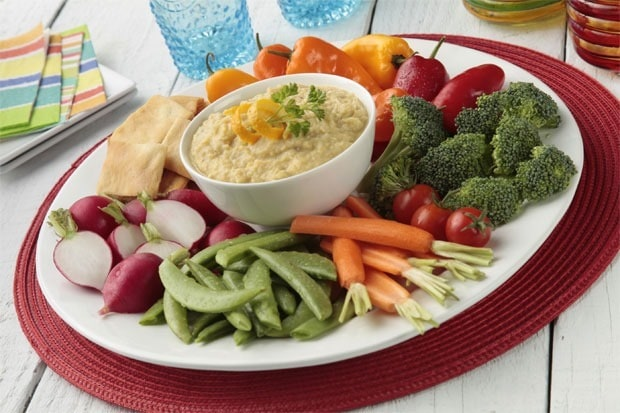 Heart healthy Citrus Hummus at This Mama Cooks! On a Diet - thismamacooks.com