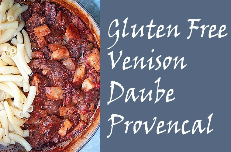 Gluten Free Venison Daube Provencal from This Mama Cooks! On a Diet - thismamacooks.com