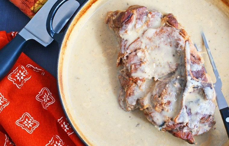 Coconut Milk Braised Pork with Lemon Grass and Ginger at This Mama Cooks! On a Diet - thismamacooks.com