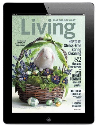 April 2014 issue of Martha Stewart Living featured at This Mama Cooks! On a Diet - thismamacooks.com