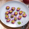 Beet Pickled Quail Eggs for Easter