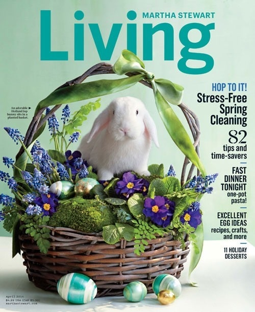 Martha Stewart Living April 2014 recipes at This Mama Cooks! On a DIet - thismamacooks.com