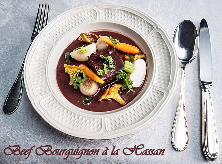 Beef Bourguignon à la Hassan from The Hundred-Foot Journey at This Mama Cooks! On a Diet - thismamacooks.com