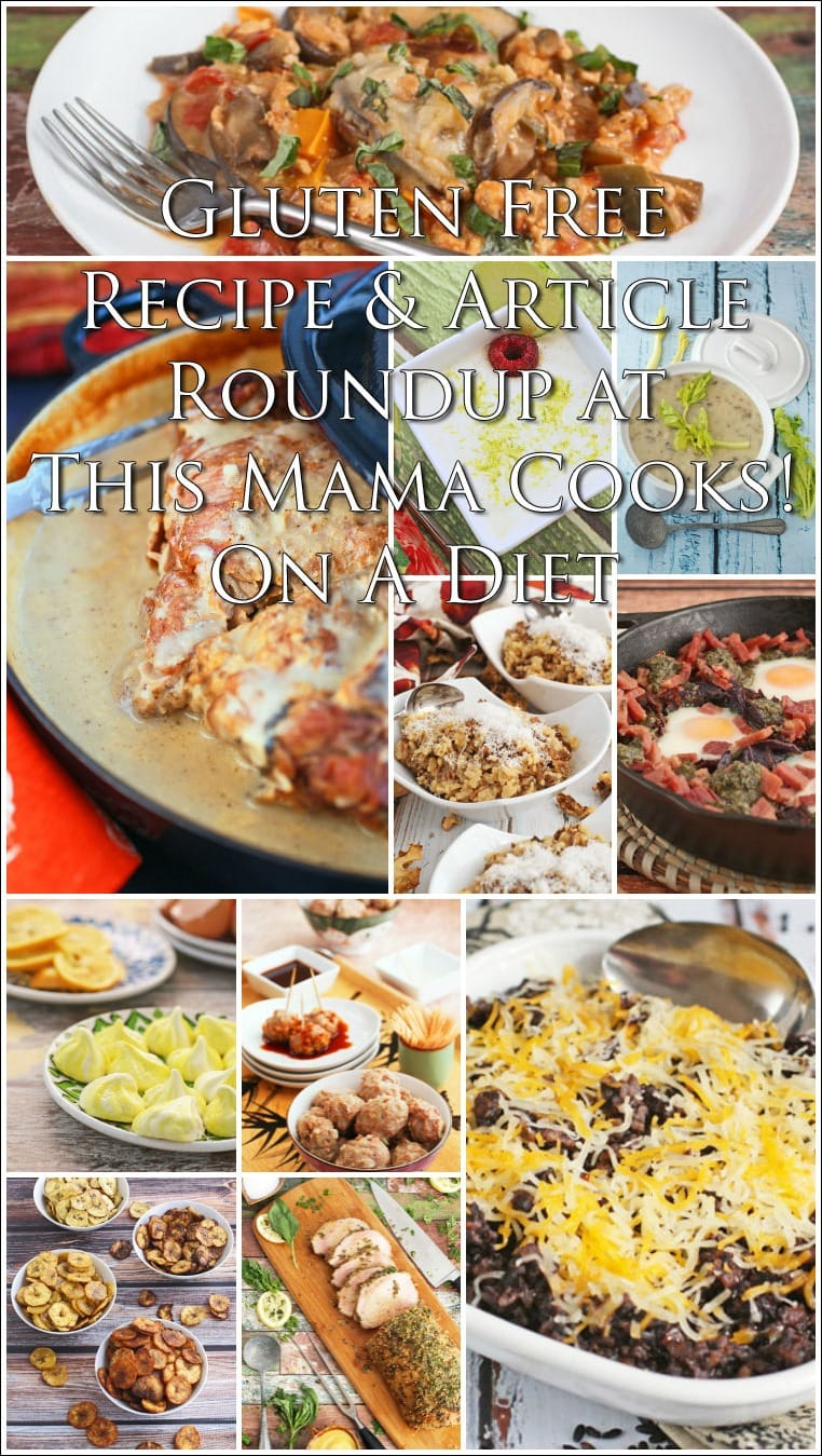 Gluten free recipe and lifestyle article roundup at This Mama Cooks! On a Diet - thismamacooks.com