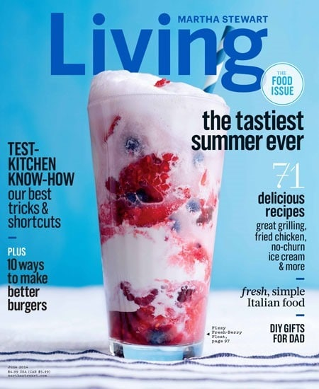 Another must try recipe from the June 2014 issue of Martha Stewart Living at This Mama Cooks! On a Diet - thismamacooks.com