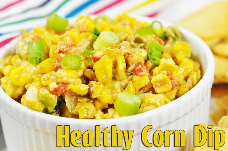 A recipe for Healthy Corn Dip from Holly Clegg at This Mama Cooks! On a Diet - thismamacooks.com