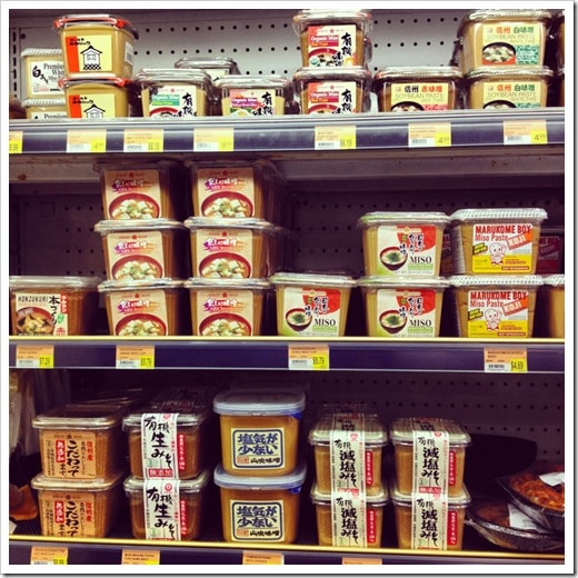 A variety of miso paste at the Buford Highway Farmer's Market in Doraville, GA - This Mama Cooks! On a Diet - thismamacooks.com