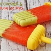Avocado Coconut & Watermelon Ice Pops