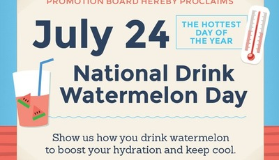 Happy National Drink Watermelon Day! #DrinkWatermelonDay