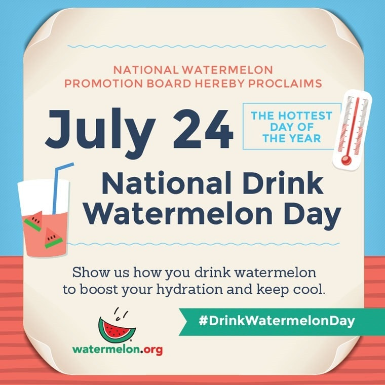 Happy National Drink Watermelon Day! #DrinkWatermelonDay at This Mama Cooks! On a Diet - thismamacooks.com