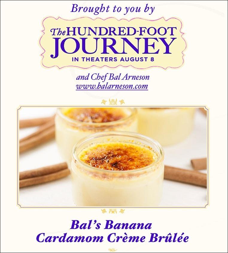 Banana Cardamom Crème Brûlée at This Mama Cooks! On a Diet - thismamacooks.com