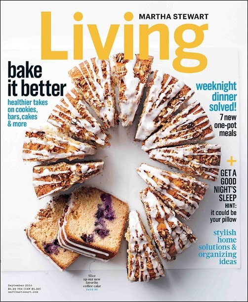 Recipes from the September 2014 issue of Martha Stewart Living featured at This Mama Cooks! On a Diet - thismamacooks.com