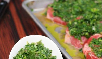 Chimichurri Marinade & Steak Sauce