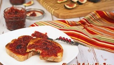 Ginger & Spice Fig Jam