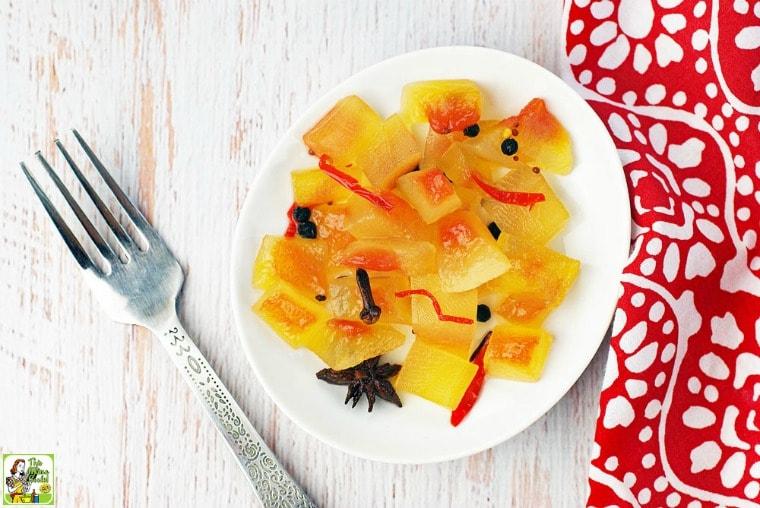 Watermelon Rind Pickles recipe
