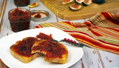 Easy Fig Ginger Jam Recipe