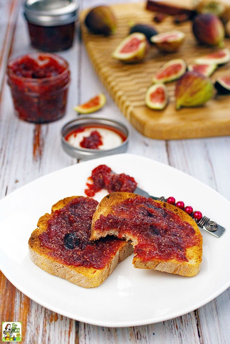 How to make an Easy Fig Ginger Jam recipe