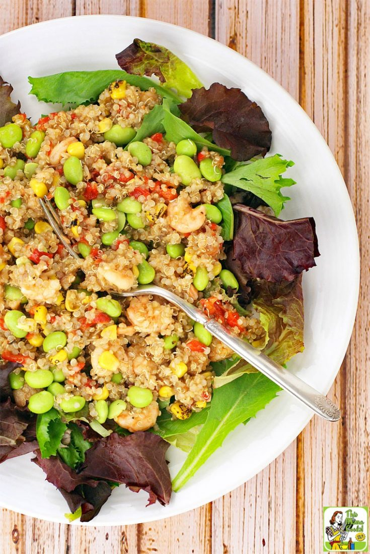 Easy Quinoa and Shrimp Salad Recipe