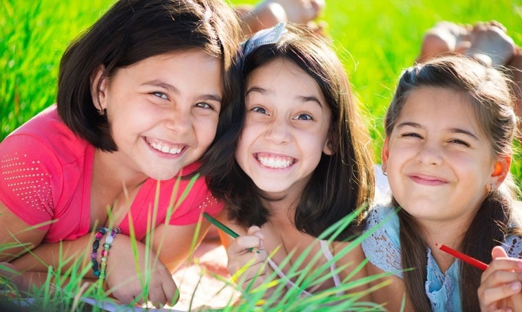Learn how Girl Scouts and Together Counts are working to keep girls active and health at This Mama Cooks! On a Diet - thismamacooks.com #HealthyHabits