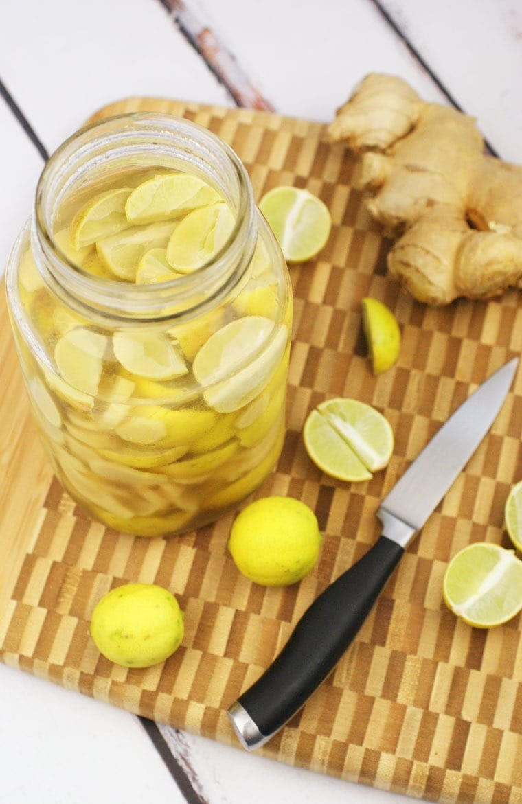 It's easy to make Ginger Lime Infused Vodka at home. Try this recipe from This Mama Cooks! On a Diet - thismamacooks.com